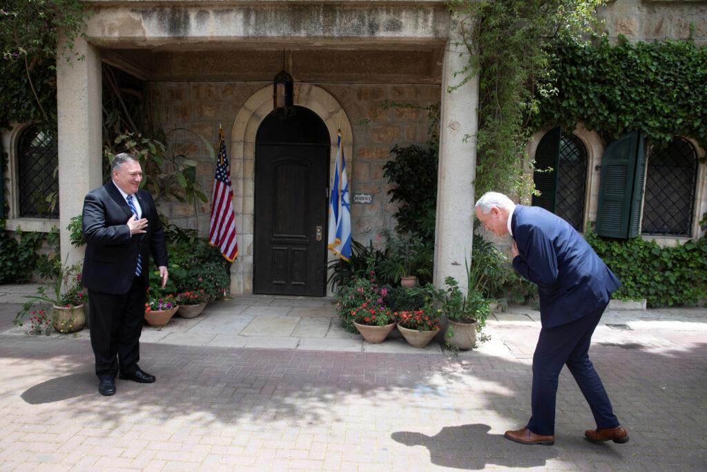 Mike Pompeo ha incontrato Netanyahu e Gantz in Israele