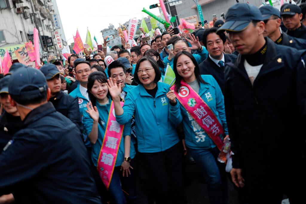 Taiwan, la Presidente Tsai Ing-wen inizia il secondo mandato