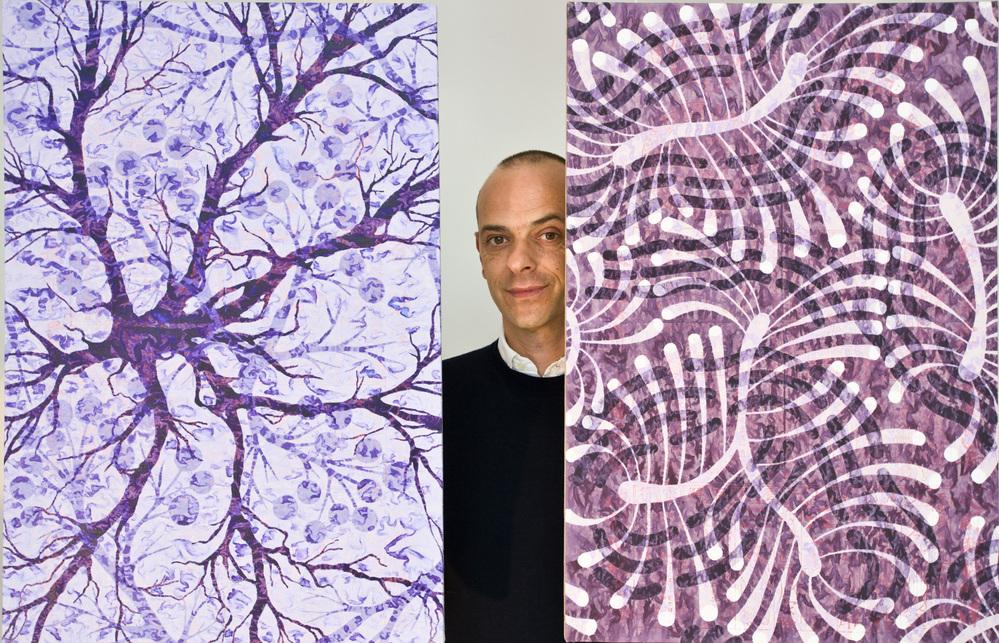 Alberto di Fabio, un artista al microscopio