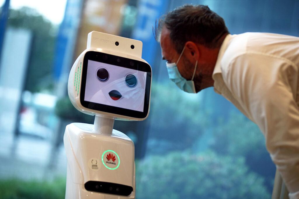 Un robot 5G
