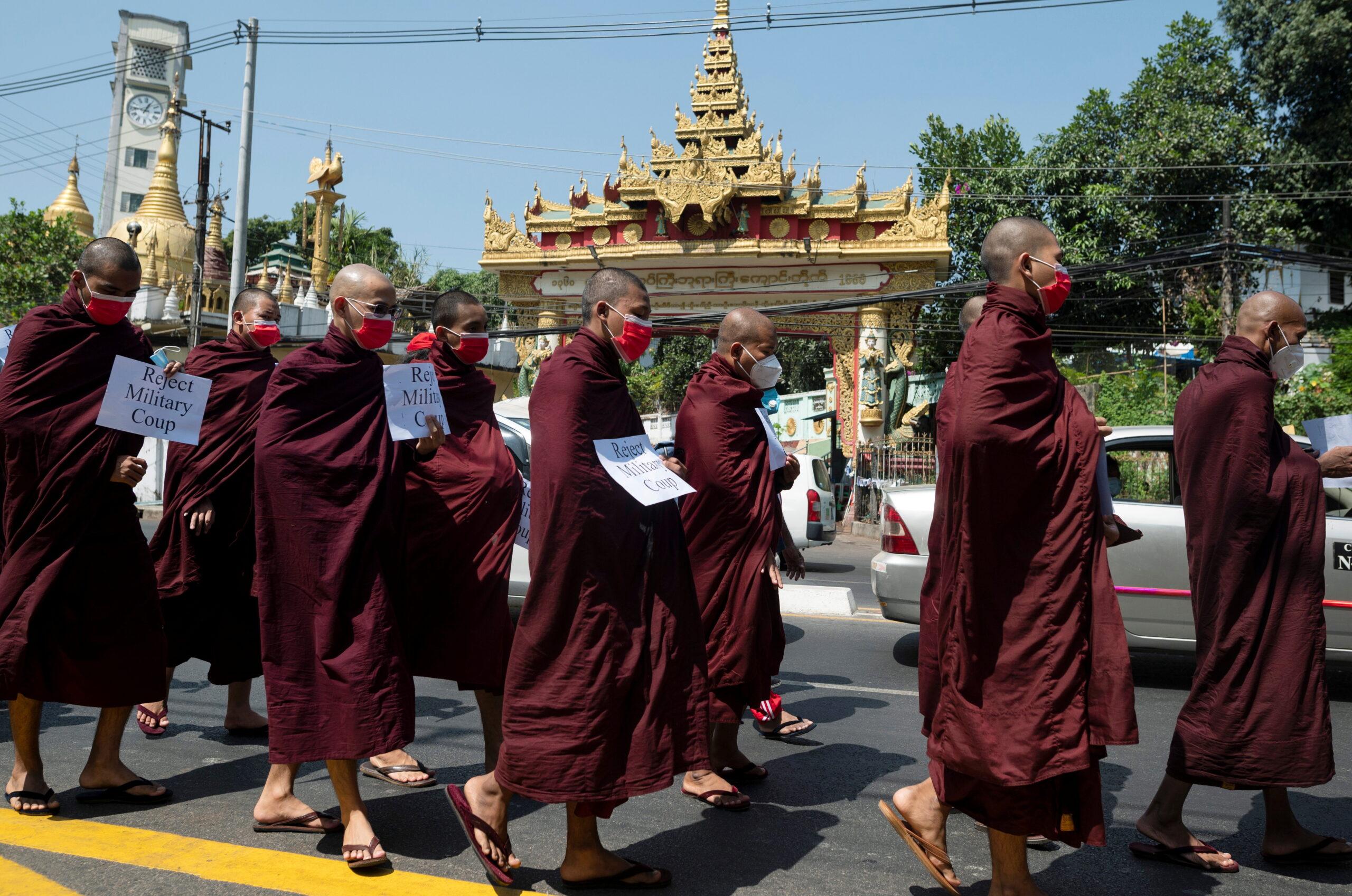 Colpo di Stato Myanmar
