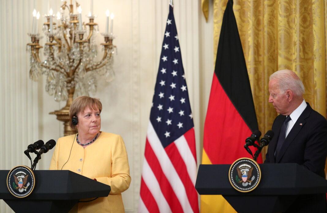 Biden e Merkel