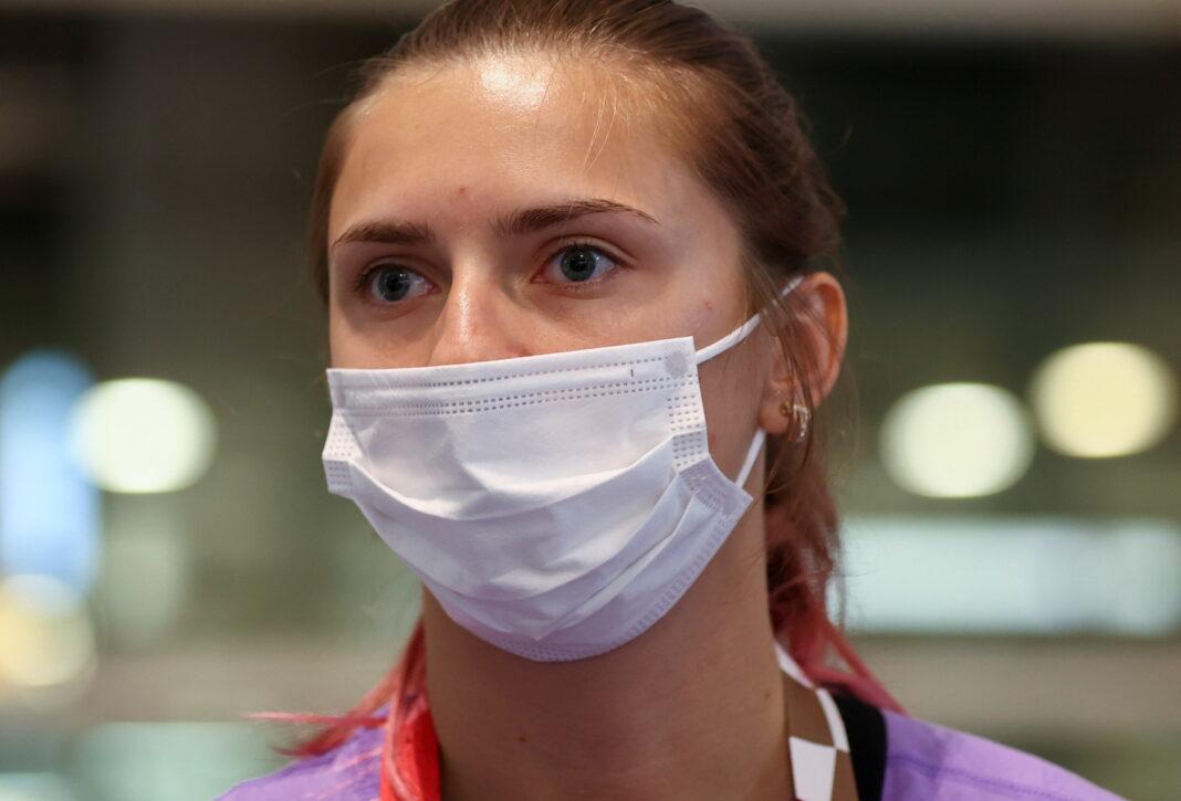Atleta olimpica bielorussa Krystsina Tsimanouskaya