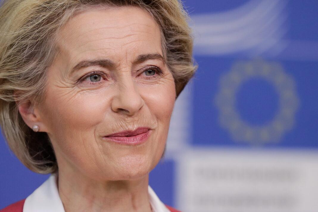Il Presidente della Commissione europea Ursula von der Leyen