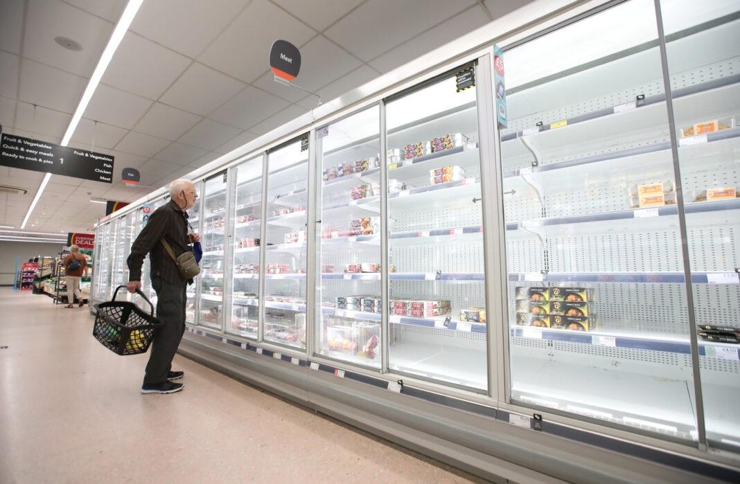 Uk: supermercati vuoti